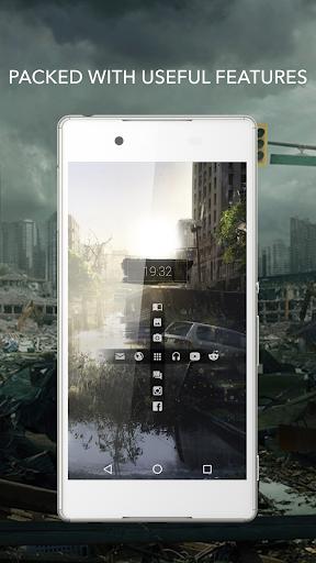 Beautiful Apocalypse for KLWP  screenshots 2