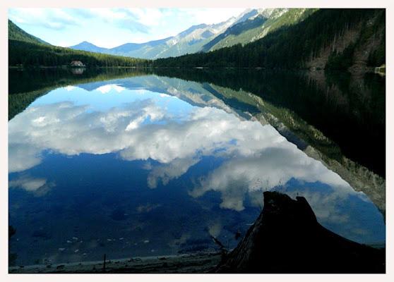 Mattino sul lago di lucaldera