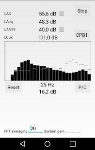 Sound level meter- screenshot thumbnail