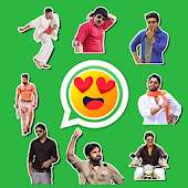 Telugu Stickers of All Heros (WAStickerApps)