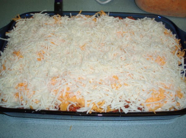 You are ready to layer your lasagna! (Use a lasagna pan deep enough for...
