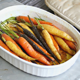 Roasted Carrots with Sweet Curry Butter