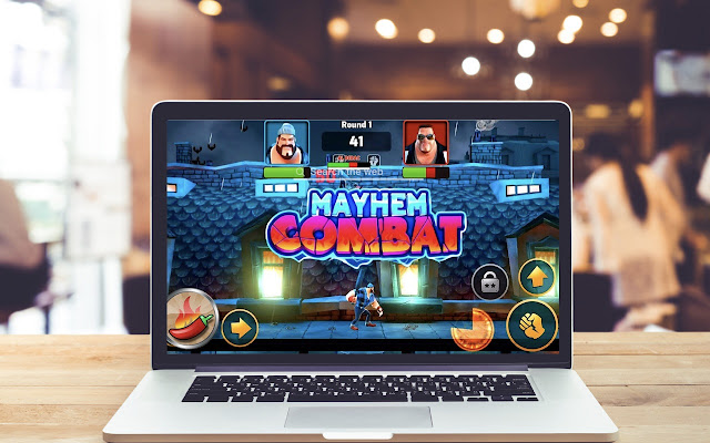 Mayhem Combat HD Wallpapers Game Theme