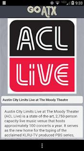 Go Austin- screenshot thumbnail