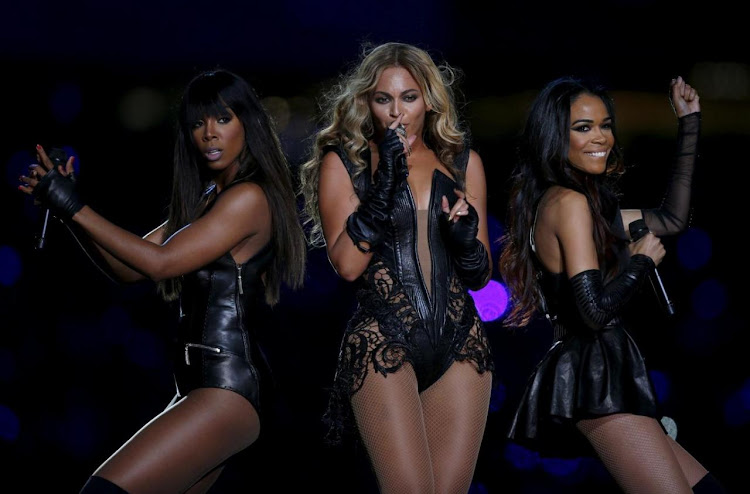 Beyonce (centre) will be one of the artists performing at the Global Citizen's concert in Johannesburg. Picture: REUTERS