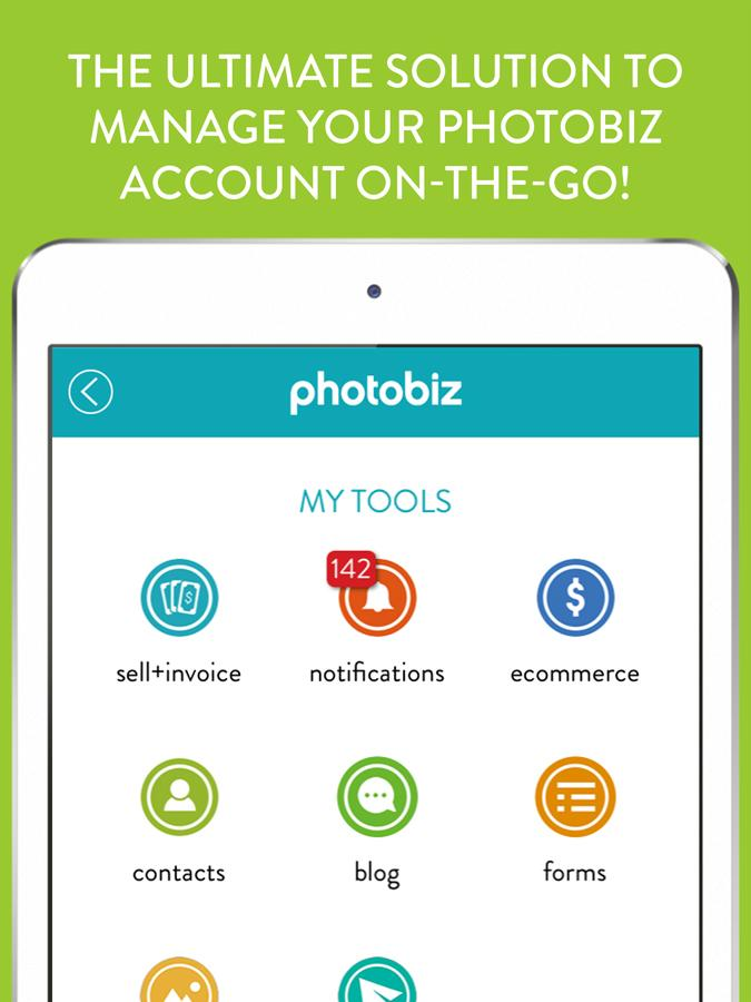PhotoBizToGo- screenshot