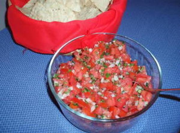 Fresh Tomato Salsa Recipe