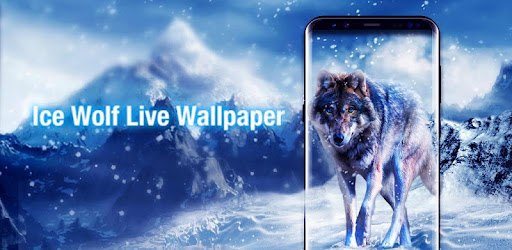 Ice Wolf Live Wallpaper - Apps on