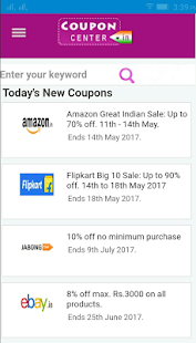 CouponCenter-Coupons & Offers- screenshot thumbnail