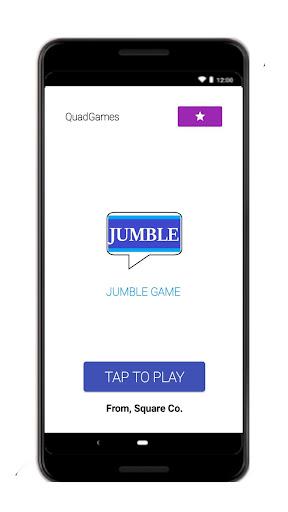 Jumble word game - puzzle game  screenshots 2