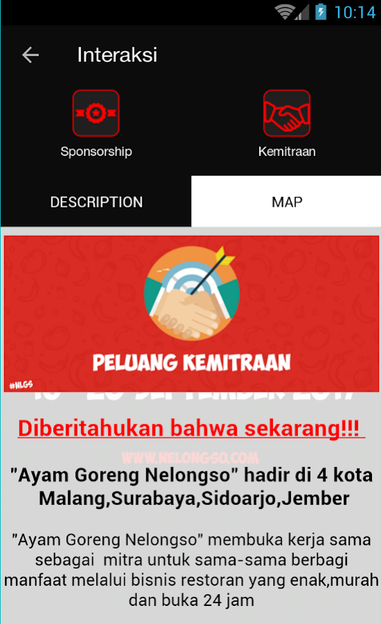Ayam Goreng Nelongso- screenshot