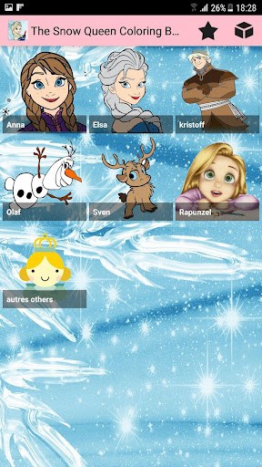 The Snow Queen Coloring Book Apps Apk Free Download For Android PC