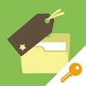 Bookmark Folder (Key) icon