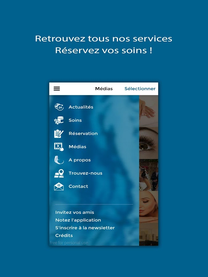 CENTRE D'ESTHETIQUE AVANCEE- screenshot