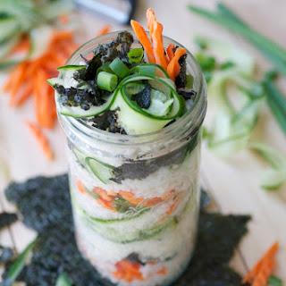Sushi Parfait.