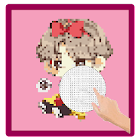 BTS Pixel Art - Numbering Coloring Books icon
