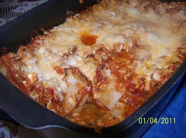 Crockpot Lasagna