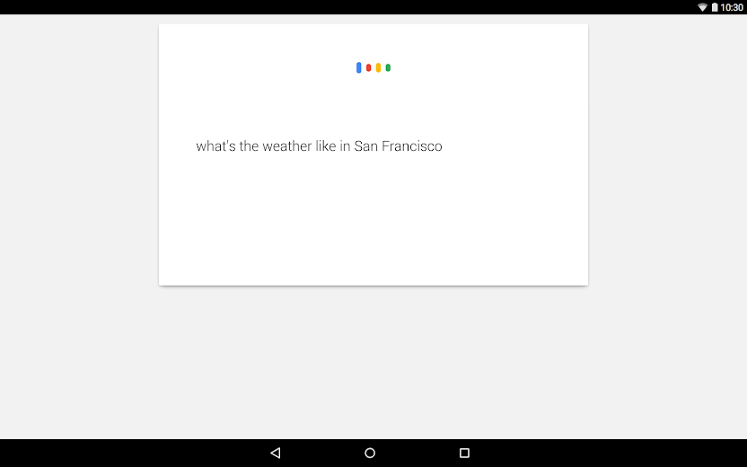 Screenshot 9 for Google's Android app'