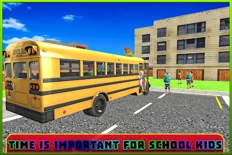 School Bus Coach Simulator 3D screenshot