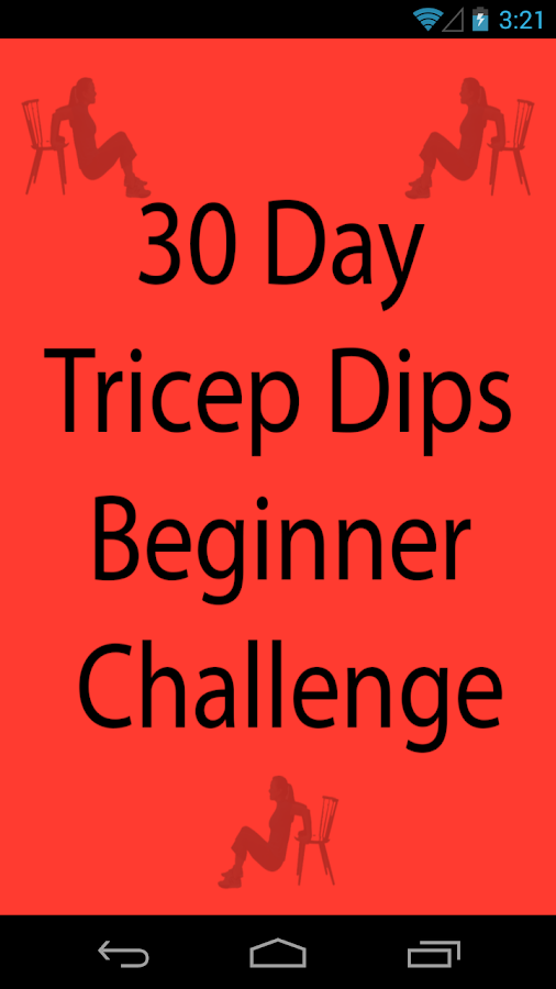 30 Day Tricep Dips Beginner Android Apps On Google Play