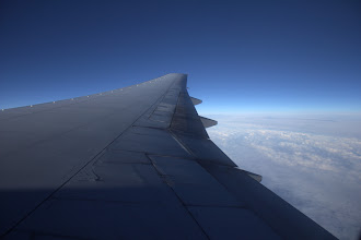 Photo: Wing and Flaps to Canada