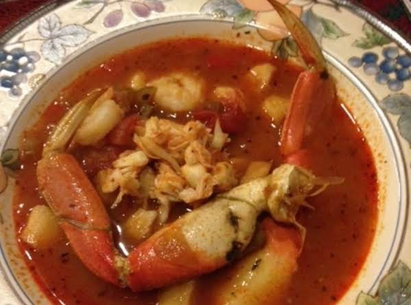 Joyce's Cioppino Recipe