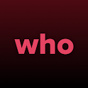 WHO - Live video chat dating & Match & Meet me icon
