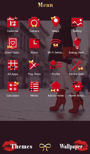 A girl in the street Theme 1.0.0 Windows u7528 2