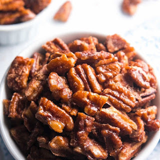 5-Minute Candied Pecans Recipe