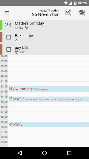 Day by Day Organizer 4.5.2 screenshots 2
