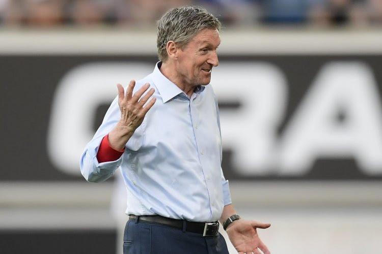 Nieuwkomer was al in het stadion, Dury geeft transfer toe