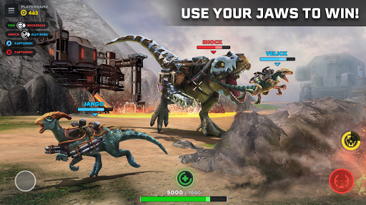 Code Triche Dino Squad. TPS Action With Huge Dinos APK MOD screenshots 3