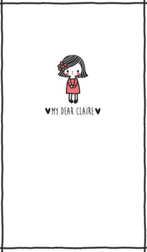My Dear Claire 카카오톡 테마