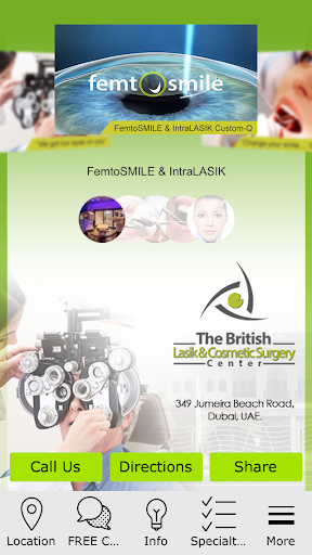 British Lasikcosmetic surgery