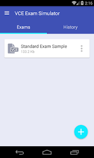 VCE Exam Simulator- screenshot thumbnail