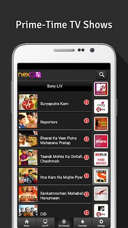 nexGTv HD:Mobile TV, Live TV 3.9 screenshot 220852
