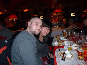 Photo: Beijing - TB dinner in russian restaurant Elephant, CZ V with fiance Annabelle