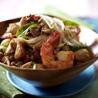 Phad Thai Noodles.