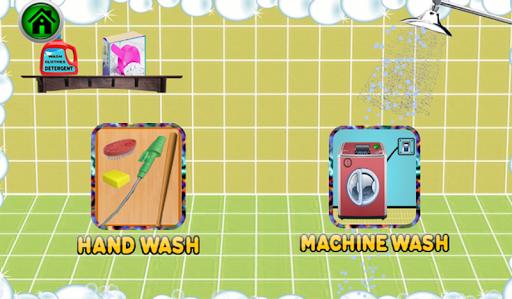 Code Triche petit service de blanchisserie: jeu de lavage de APK MOD (Astuce) screenshots 2
