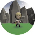 Little Warrior 3D Runner icon