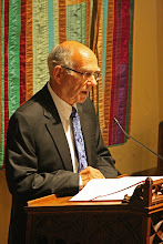 Photo: The first lesson (Ezekiel 34: 11-16) was read by Dr. Donald Shaffer