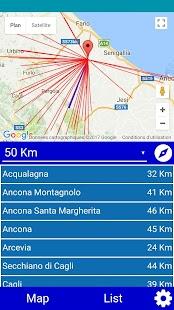 TransmitterMap (Italy) - náhled