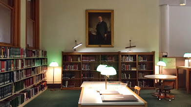 Photo: the Chicago area of the Newberry Library