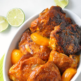 Easy Chipotle Peach Glazed Chicken Recipe