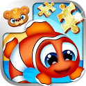 123 Kids Fun PUZZLE GOLD Free icon