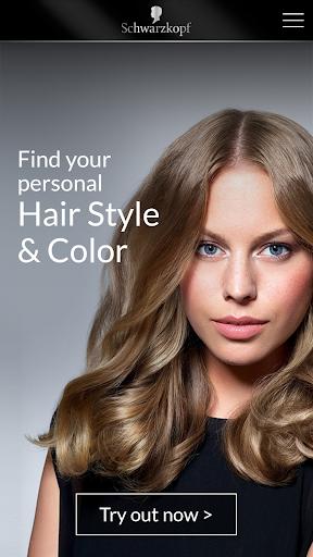 Schwarzkopf Hair Style Color