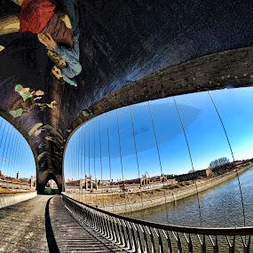 RIO MANZANARES... by Luis Orchevecs Ferenczi - Buildings & Architecture Bridges & Suspended Structures