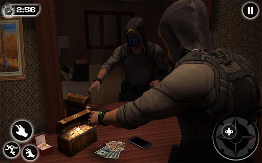 Jewel Thief Grand Crime City Bank Robbery Games apkpoly screenshots 12