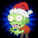 Zombie Santa Smash in Xmas Eve icon