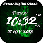LED Horror Digital Clock LWP icon